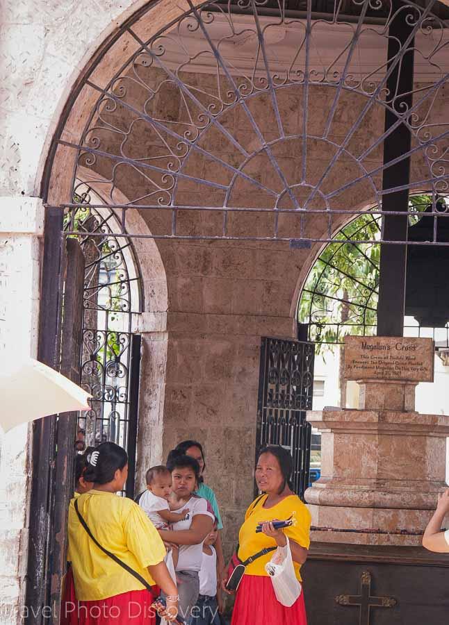 Magellan's Cross & chapel