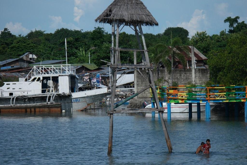Mactan island coastal waterways