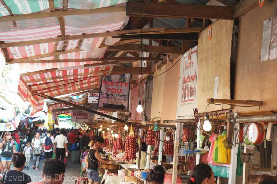 Mactan public market in Cebu