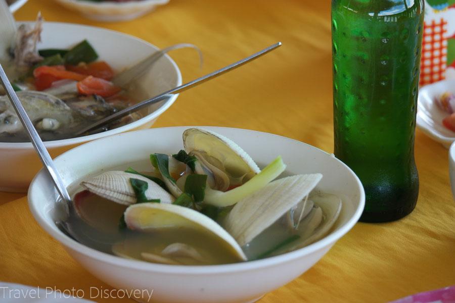 Seafood specialties on Mactan waterfront restaurants