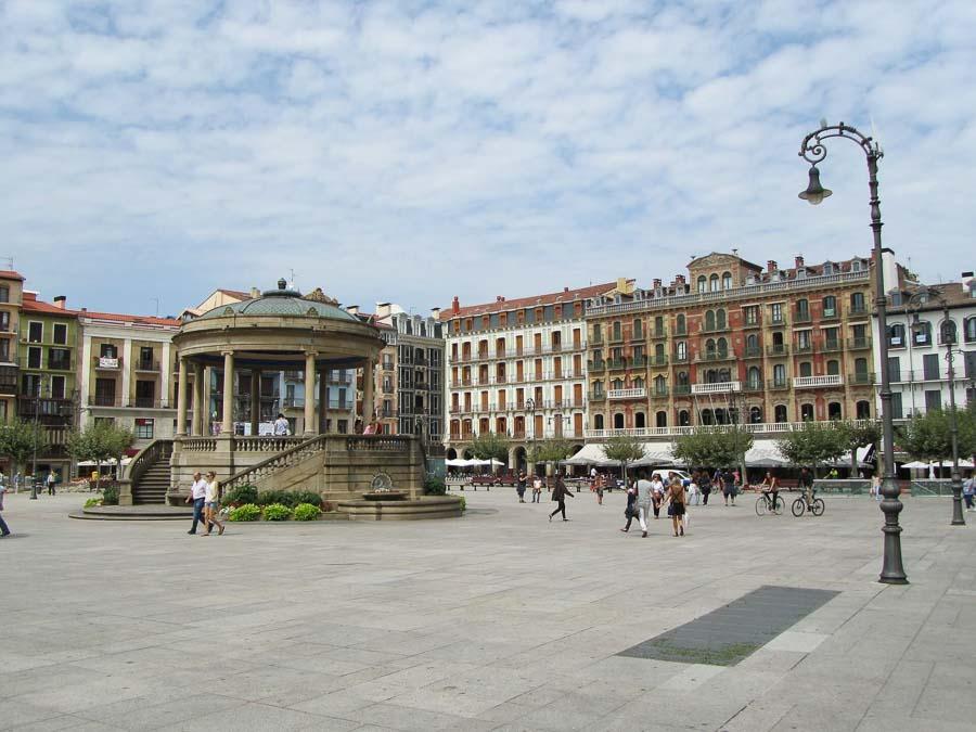 Bilbao plaza Gran Via