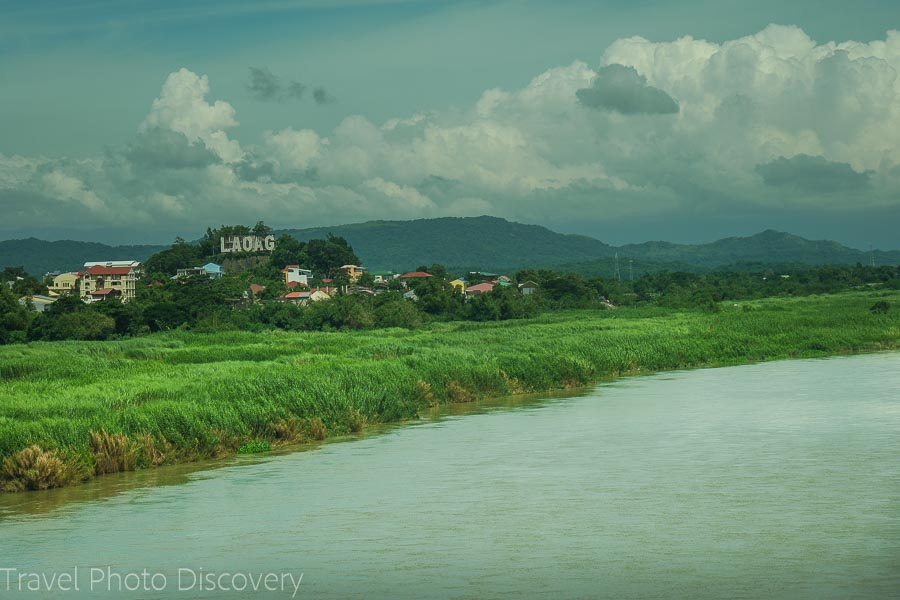 Scenic landscape around Loaog city Ilocos Norte