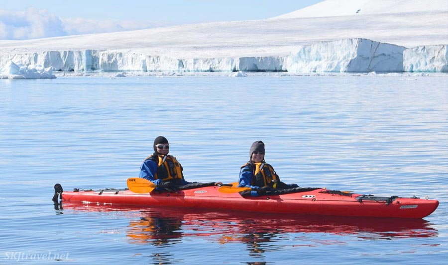 Kayak trip to Antarctica