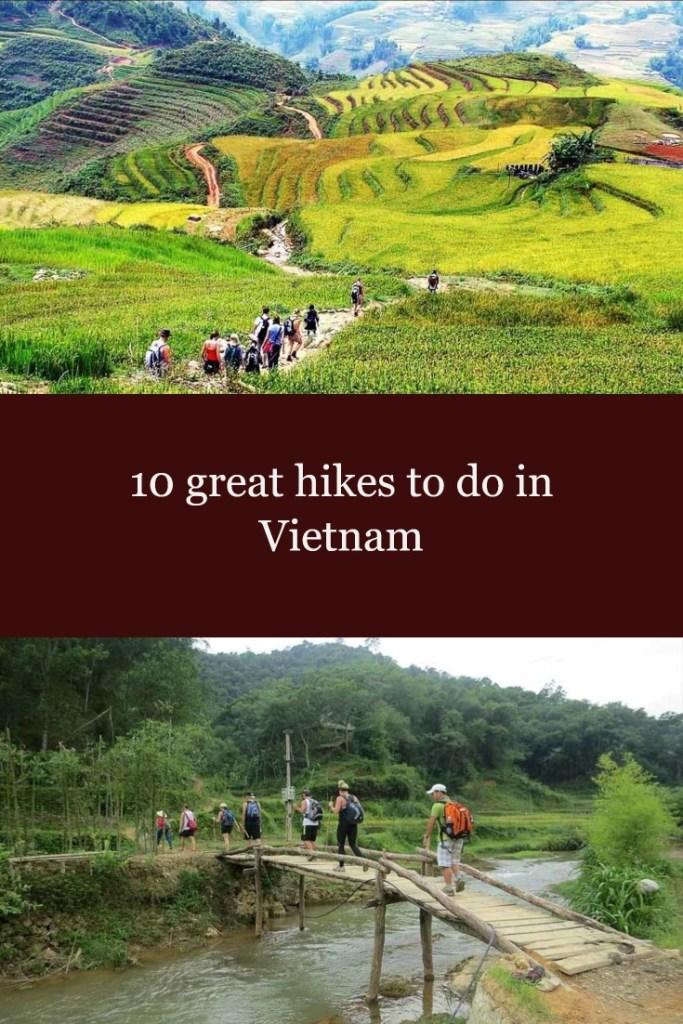 10 great hikes in Vietnam