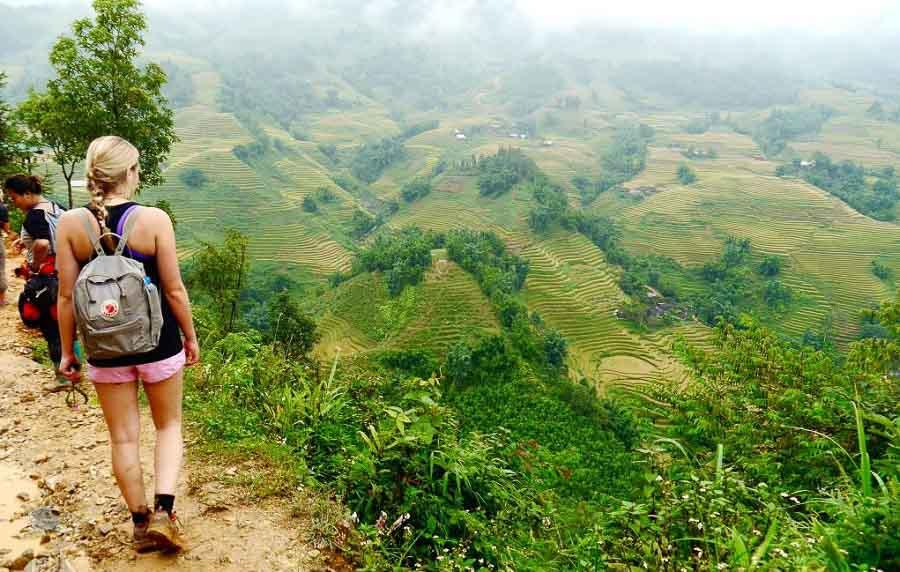 sapa hike in Vietnam