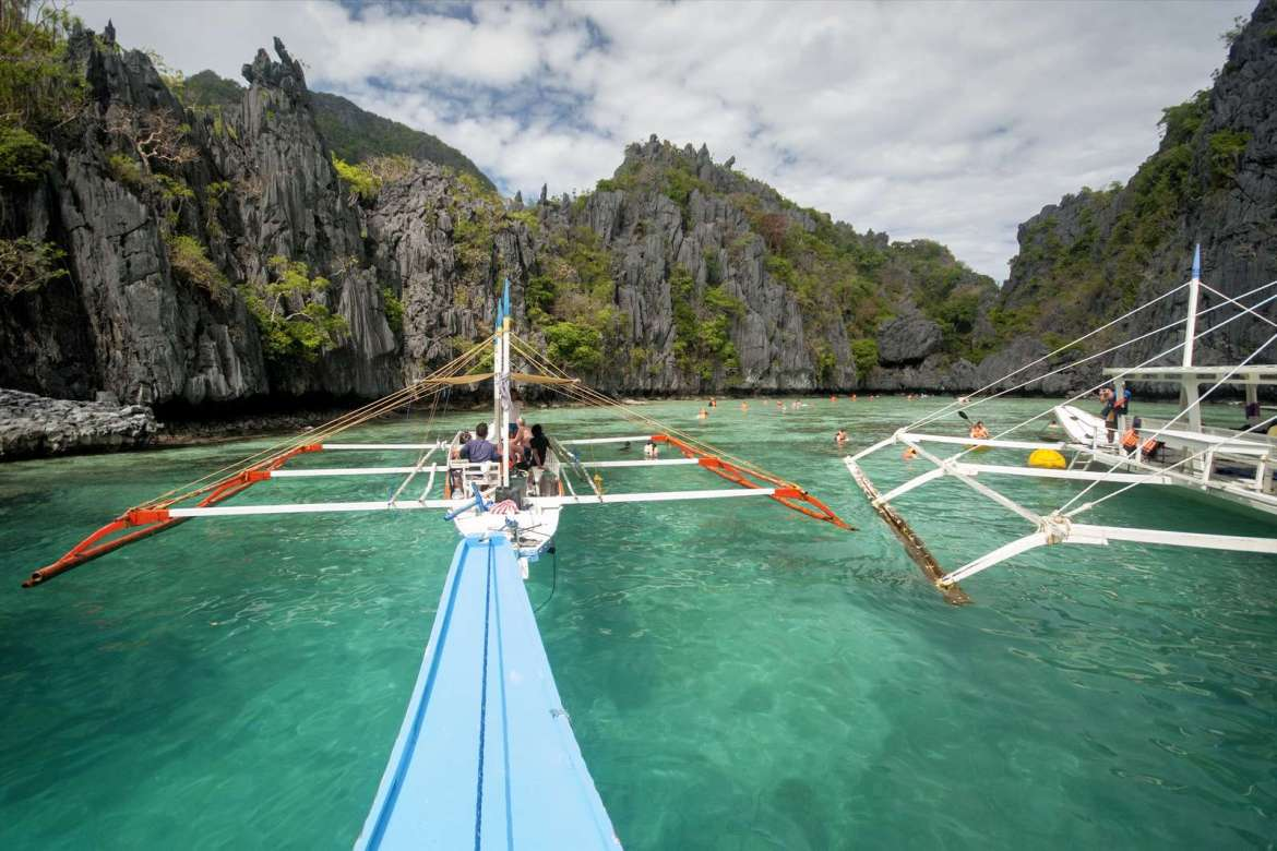 Approaching the Small Lagoon, El Nido