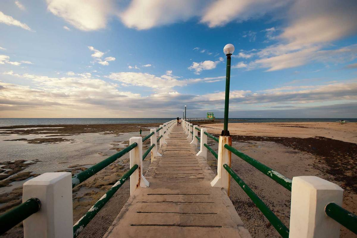 Bontay Boardwalk, Madridejos, Bantayan Island