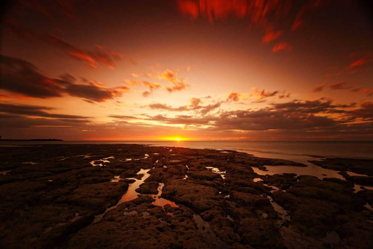 Madridejos sunset, Bantayan Island