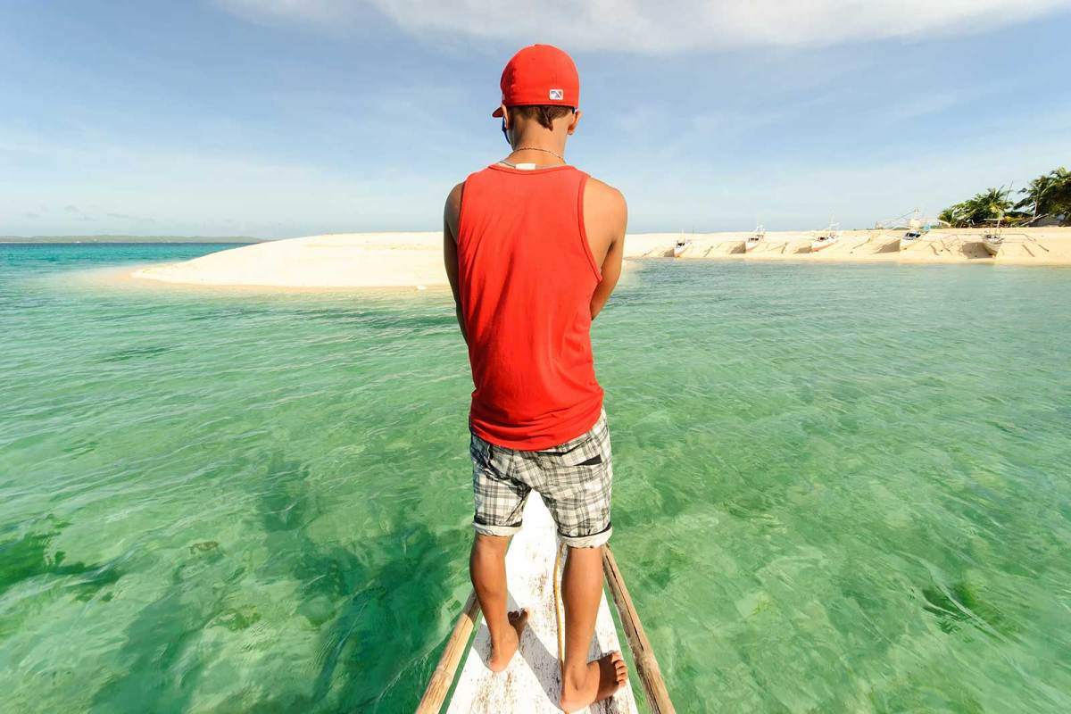 Approaching Hilantaga-an Island
