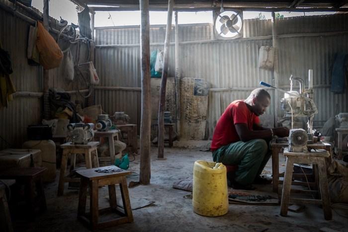 kibera bone crafts