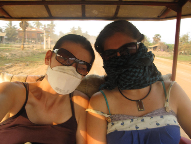Protection from the mad dust and pollution!