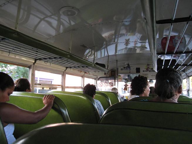 Belizean Chicken Bus