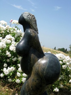 Booty Statue in Florence, Italy