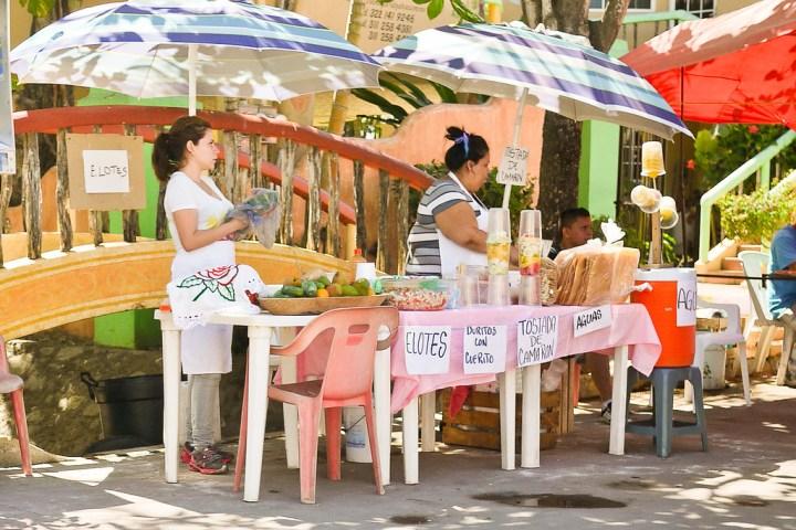 Street food Mexico