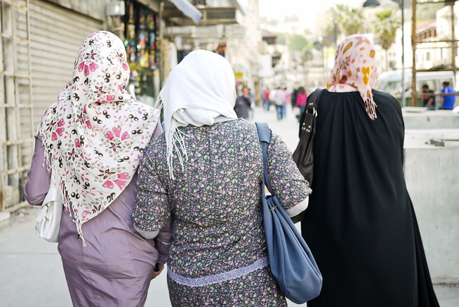 Walking the streets of Amman, friendship is front and center.