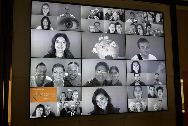 At the Bill and Melinda Gates Foundation Visitors Center