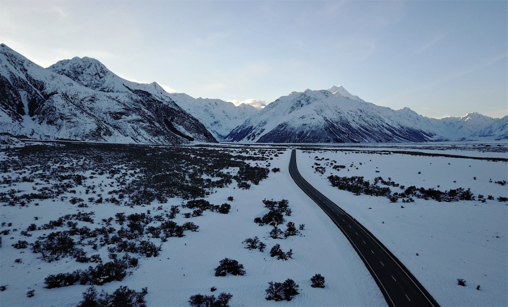 Mt. Cook Road