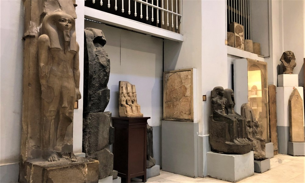 Artifacts in Museum of Egypt