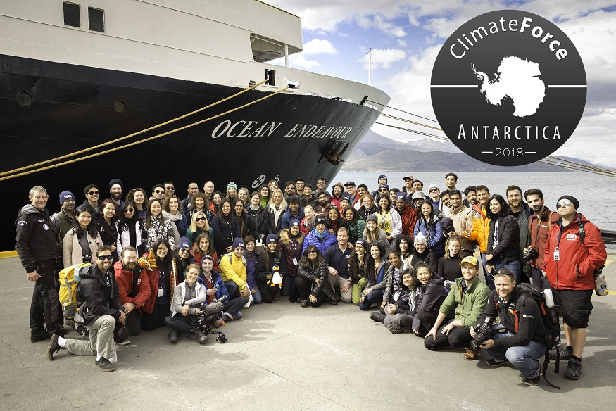 Antarctica Expedition Climate Force