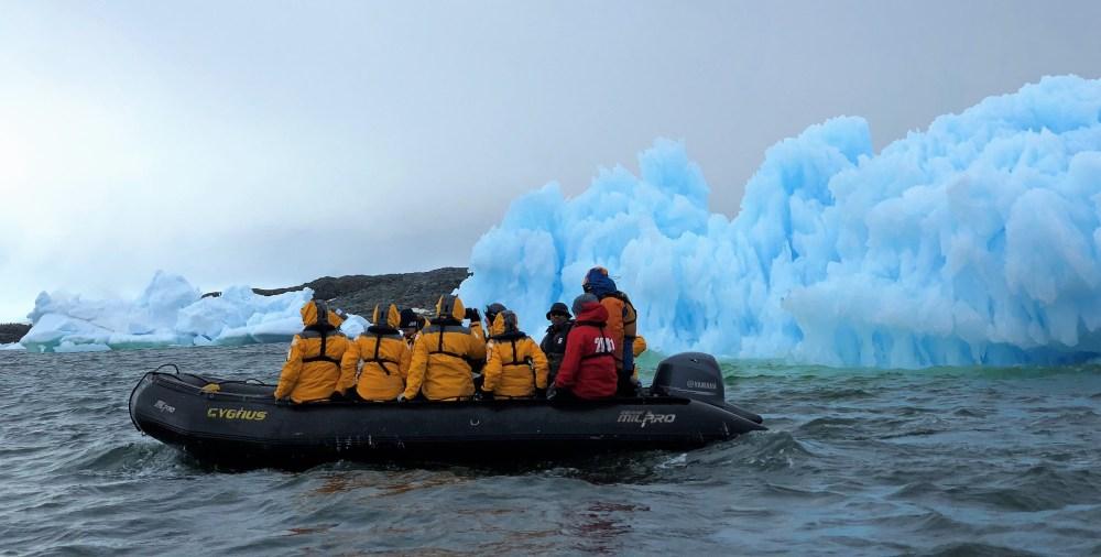 Icebergs & Zodiac