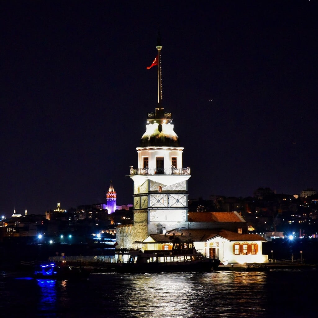 the maidens tower bosphorus istanbul turkey