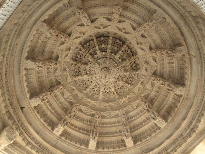 Roof carving