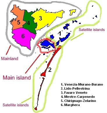 Venice map