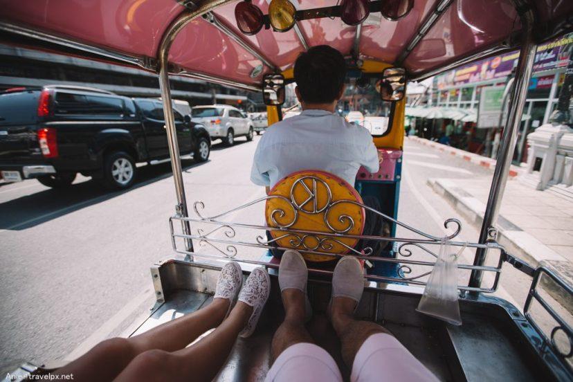 Tuk tuk ở Bangkok