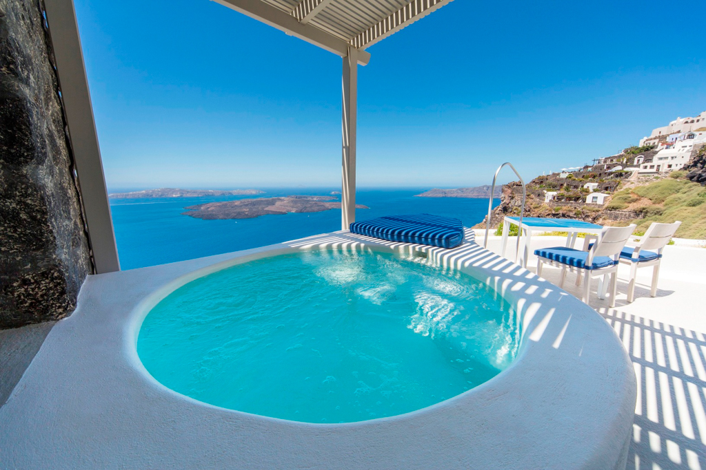 Caldera-Pool Santorini