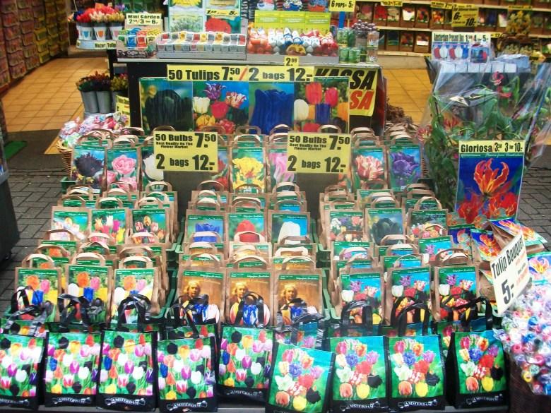 Bloemenmarkt Amesterdão