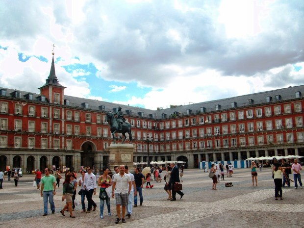 Madrid plaza mayor1