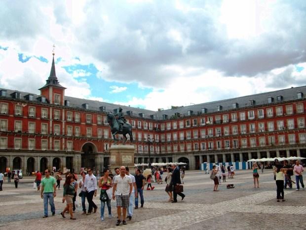 Madrid plaza mayor1