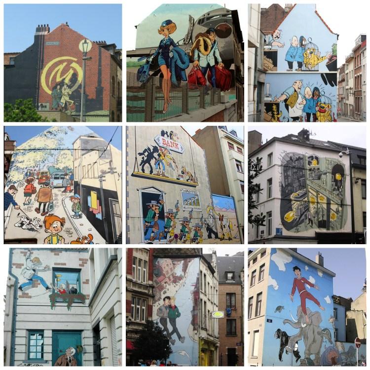 Percurso BD 1 razão para visitar a Bélgica