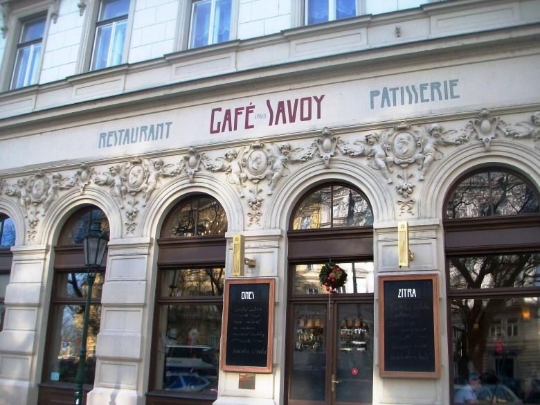 Praga Café Savoy