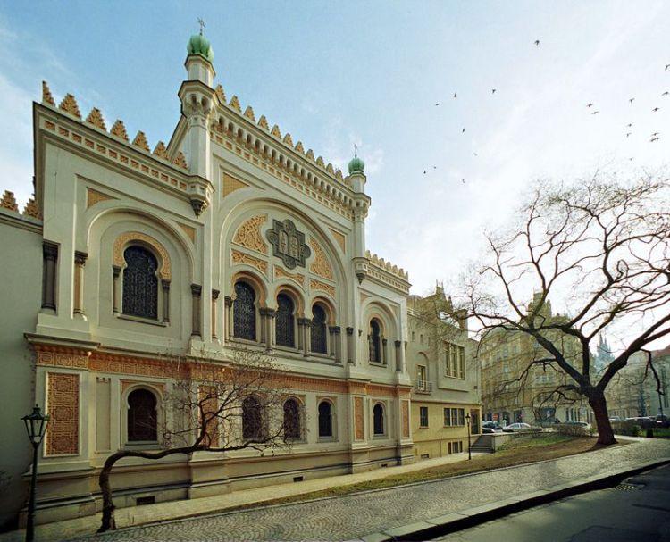 prague jewish synagogues