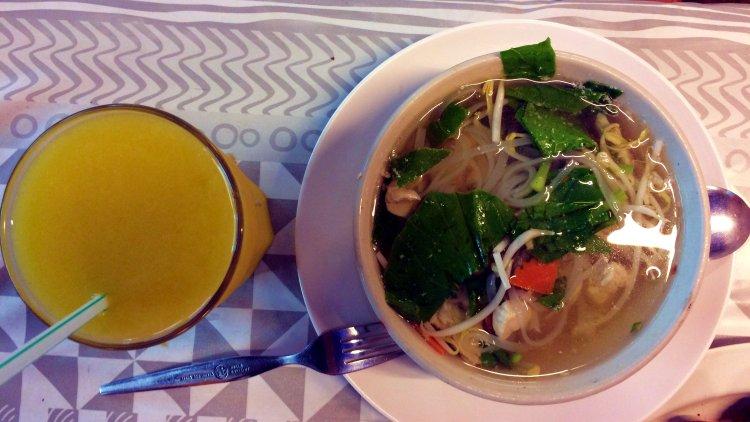 Kuay Tiew  pratos Tailandeses