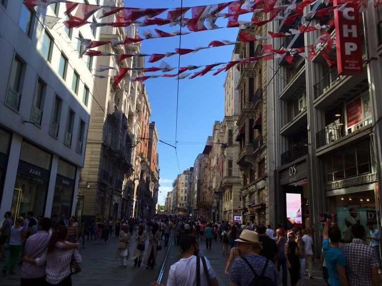 Istambul - Istiklal Caddesi