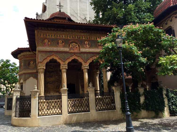 Bucareste - Igreja de Stavropoleos