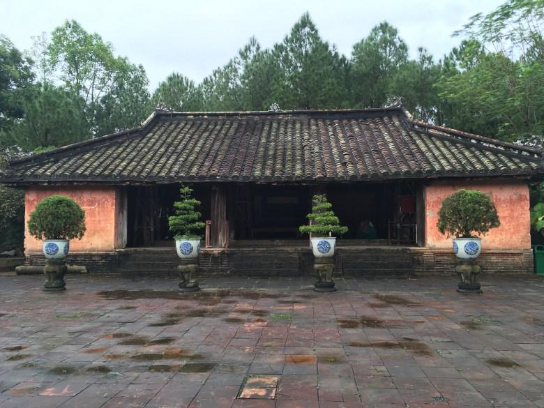 Hue - Thieu Tri Tomb