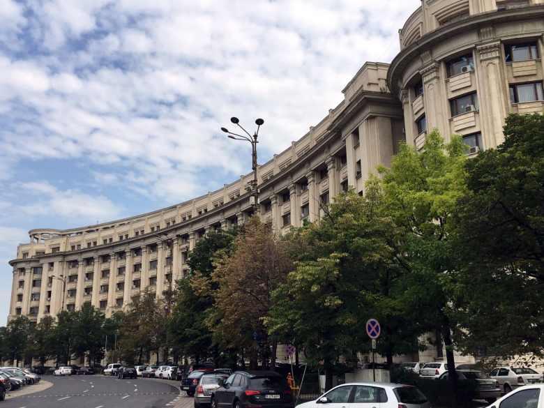 Bucareste - Bulevar Unirii