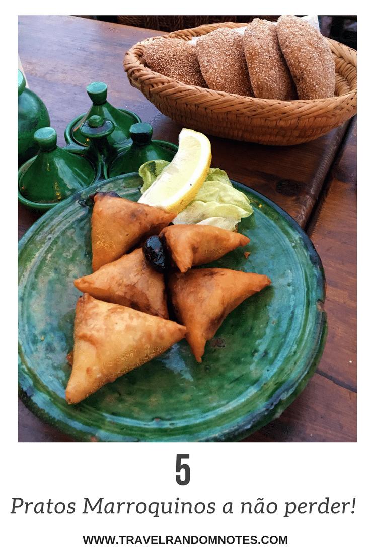 5 Pratos Marroquinos a não perder