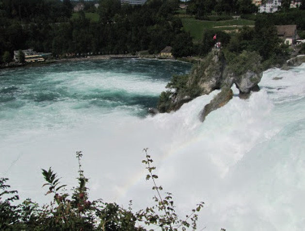 Rhine Falls, Switzerland!