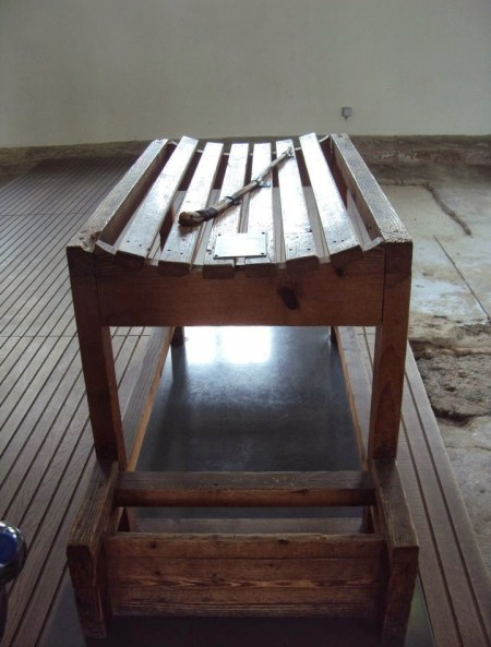 The table of TORTURE , Dachau Concentration Camp Memorial Site (Germany), Travel Realizations