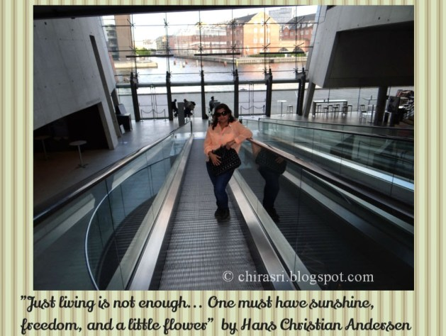 Travel Realizations, Black Diamond in Copenhagen, Denmark!