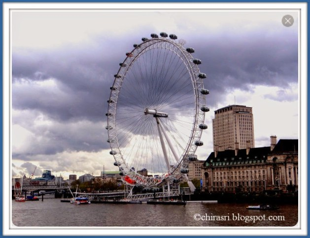 Travel Realizations, London Eye through my eyes