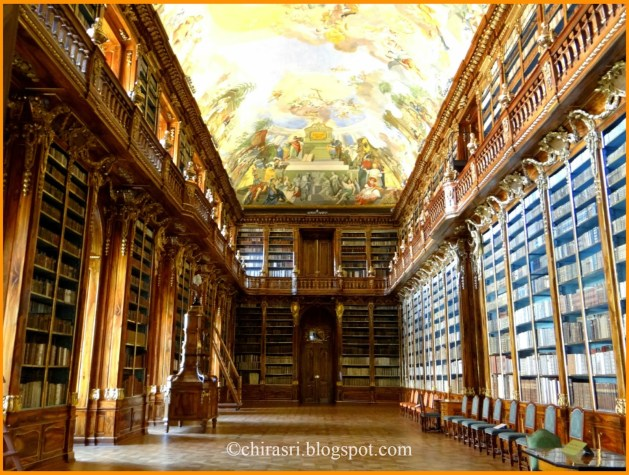 Philosophical hall, inside the Library of Strahov Monastery