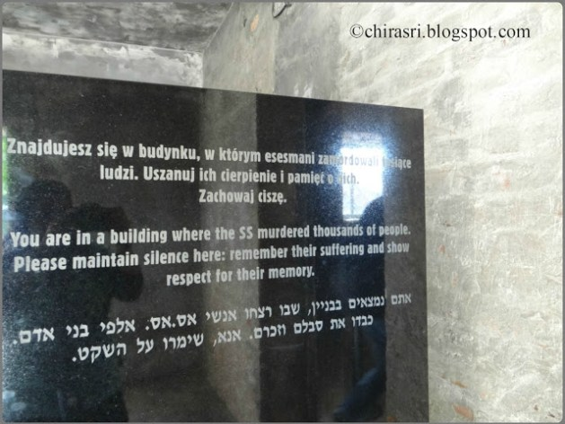 Travel Realizations, The tragic road of death in Auschwitz