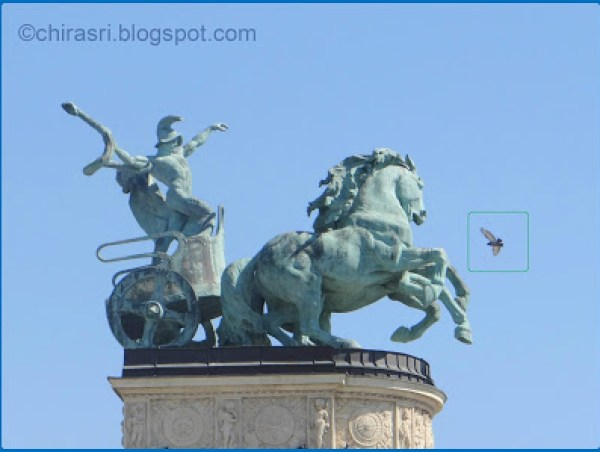 Travel Realizations, Heroes square, Hungary, Budapest