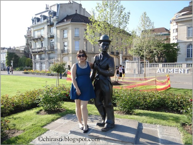 Charlie Chaplin, Vevey, Switzerland