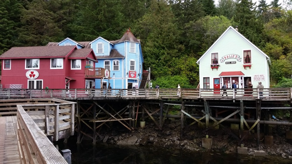 Colourful Ketchikan